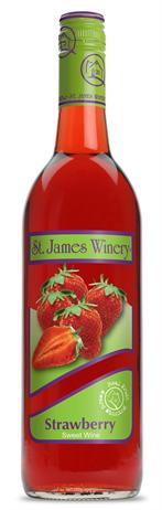 St James Winery Strawberry Wine